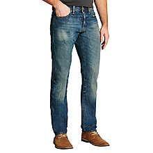 Buy Denim & Supply Ralph Lauren Davis Slim Jeans, Blue Online at johnlewis.com