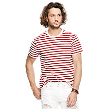 Buy Denim & Supply by Ralph Lauren T-Shirt, Leon Stripe Online at johnlewis.com