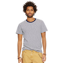 Buy Denim & Supply Ralph Lauren Crew Neck T-Shirt, Montauk Stripe Online at johnlewis.com