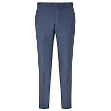 Buy John Lewis Woven in Italy Wool Jaspe Tailored Suit Trousers, Airforce Blue Online at johnlewis.com