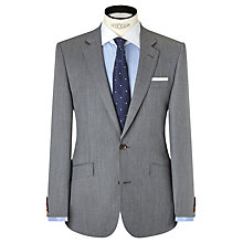 Buy John Lewis Woven in Italy Half Canvas Fine Twill Tailored Suit Jacket, Grey Online at johnlewis.com