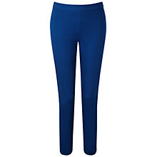 Buy Pure Collection Iverson Cotton Stretch Cropped Trousers, Cobalt Online at johnlewis.com