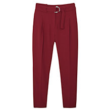 Buy Mango Belt Baggy Trousers Online at johnlewis.com