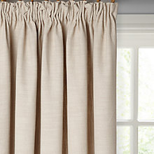 Buy John Lewis Skye Lined Pencil Pleat Curtains, Putty Online at johnlewis.com