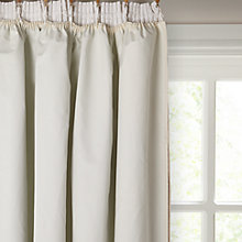 Buy John Lewis Pencil Pleat Blackout Curtain Linings, Ivory Online at johnlewis.com