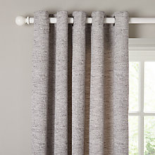 Buy John Lewis Boucle Texture Lined Eyelet Curtains Online at johnlewis.com