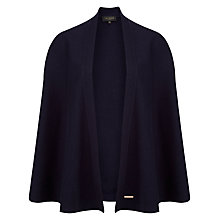 Buy Ted Baker Zailia Cape Cardigan, Dark Blue Online at johnlewis.com