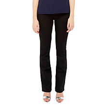 Buy Ted Baker Balima High Waist Kick Flare Jeans, Black Online at johnlewis.com