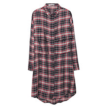Buy Mango Chest Pocket Check Shirt, Red Online at johnlewis.com