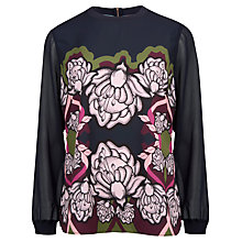 Buy Ted Baker Surreal Tapestry Top, Multi Online at johnlewis.com