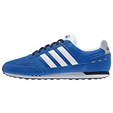 Buy Adidas Neo City Racer Men's Trainers Online at johnlewis.com
