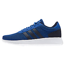 Buy Adidas Lite Racer Men's Trainers Online at johnlewis.com