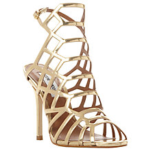 Buy Steve Madden Slithur Caged Stiletto Heel Sandals Online at johnlewis.com