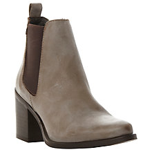 Buy Steve Madden Piero Block Heeled Ankle Boots Online at johnlewis.com