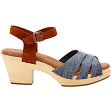 Buy TOMS Beatrix Clog Sandals Online at johnlewis.com