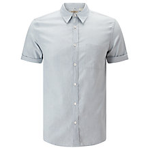 Buy Levi's Made & Crafted Short Sleeve Shirt, Grey/Green Online at johnlewis.com