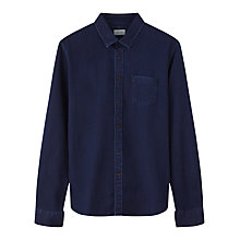 Buy Jigsaw Indigo Dot Pattern Shirt, Indigo Online at johnlewis.com