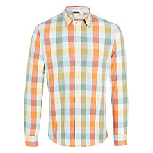 Buy Dockers Check Laundered Cotton Poplin Slim Fit Shirt, Rob Online at johnlewis.com