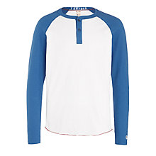 Buy Champion + Todd Snyder Colour Block Henley Long Sleeve T-Shirt Online at johnlewis.com
