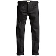 Buy Levi's Made & Crafted Tack Slim Jeans, Black Selvedge Online at johnlewis.com