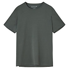 Buy Jigsaw Fine Cotton Stretch T-Shirt Online at johnlewis.com