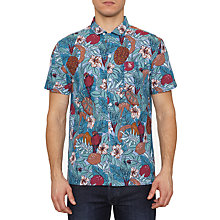 Buy Original Penguin Cabana Short Sleeve Shirt, Daphne Online at johnlewis.com