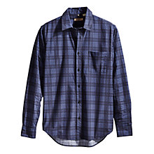 Buy Levi's Made & Crafted Classic Plaid Shirt, Indigo Online at johnlewis.com