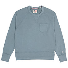 Buy Champion + Todd Snyder Pocket Sweatshirt, Grey Heather Online at johnlewis.com
