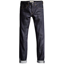 Buy Levi's Tack Slim Selvedge Jeans, Blue Online at johnlewis.com