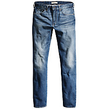 Buy Levi's Made & Crafted Shuttle Tapered Jeans, Crosses Blue Online at johnlewis.com