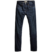 Buy Levi's Made & Crafted Tack Slim Jeans, Dark Blue Online at johnlewis.com