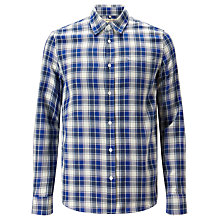 Buy Levi's Made & Crafted Shirt, White/Blue Online at johnlewis.com