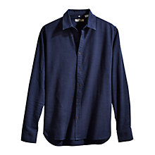 Buy Levi's Slim Overdye Shirt, Indigo Online at johnlewis.com