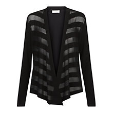 Buy Hobbs Tillie Cardigan, Black Online at johnlewis.com