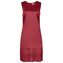 Buy Reiss Bex Dress, Crimson Online at johnlewis.com
