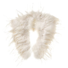 Buy Phase Eight Frederica Feather Cape, Ivory Online at johnlewis.com
