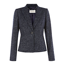 Buy Hobbs Cornelia Jacket, Navy/Ivory Online at johnlewis.com