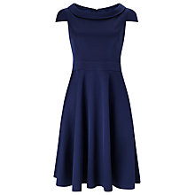 Buy Phase Eight Nicola Flare Dress, Navy Online at johnlewis.com