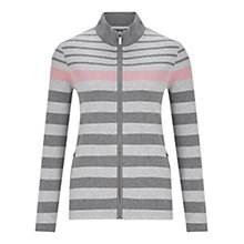 Buy Viyella Stripe Jersey Jacket, Rose Online at johnlewis.com