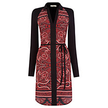 Buy Oasis Paisley Shirt Dress, Multi Red Online at johnlewis.com