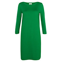 Buy Hobbs Nancy Dress, Grass Green Online at johnlewis.com