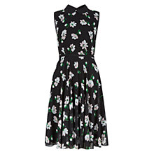 Buy Hobbs Francesca Dress, Black Multi Online at johnlewis.com
