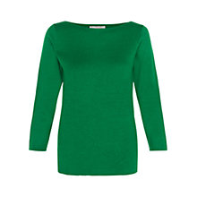 Buy Hobbs Cesci Jumper, Grass Green Online at johnlewis.com