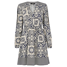 Buy Oasis Paisley Patch Dress, Multi Online at johnlewis.com