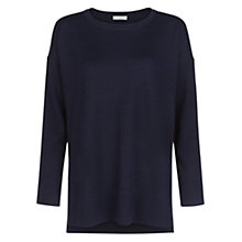 Buy Hobbs Libby Jumper, Navy Online at johnlewis.com