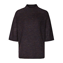 Buy Reiss Cyra Tonal Jumper, Navy/Multi Online at johnlewis.com