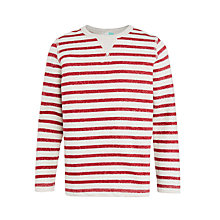 Buy John Lewis Boys' Breton Stripe Sweatshirt Online at johnlewis.com