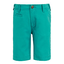 Buy John Lewis Boys' Lightweight Chino Shorts, Aqua Online at johnlewis.com