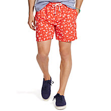 Buy Polo Ralph Lauren Traveller Swim Shorts, Native Red Wakeboard Online at johnlewis.com