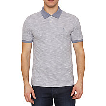 Buy Original Penguin Contrast Polo Shirt, Flintstone Online at johnlewis.com
